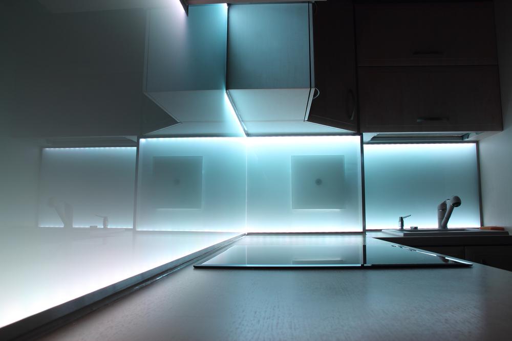 Was Für Ein Led Band In Die Küche | Beleuchtung