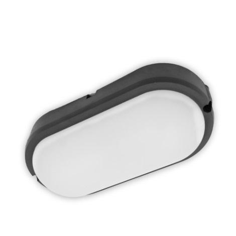 Brilagi - LED Industrie-Deckenleuchte SIMA LED/12W/230V IP65 schwarz