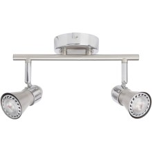 BRILLIANT - LED Spotlight SANNY 2xGU10/3W/230V