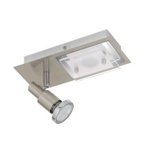 Briloner 2879-022 - LED Deckenleuchte COMBINATA 1xGU10/3W + LED/5W/230V