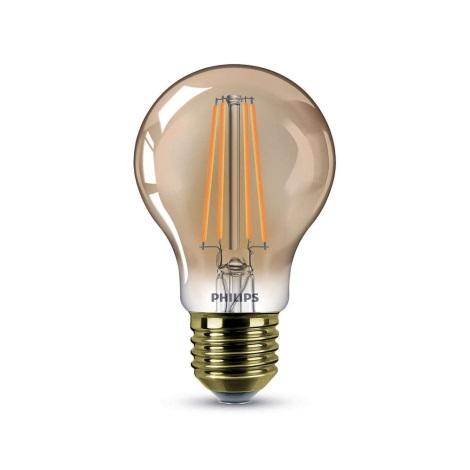 dimmbare LED Glühbirne Philips E27/7,5W/230V 2000K - VINTAGE