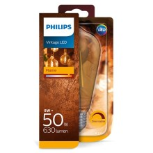 dimmbare LED Glühbirne Philips E27/7W/230V 2700K