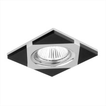 Downlight 71023 1xGU10/50W chrom/wenge