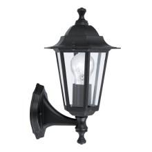 Außenwandleuchte Wandlampe eckig silber Wandleuchte 1xR7s Aussenwandlampe IP54