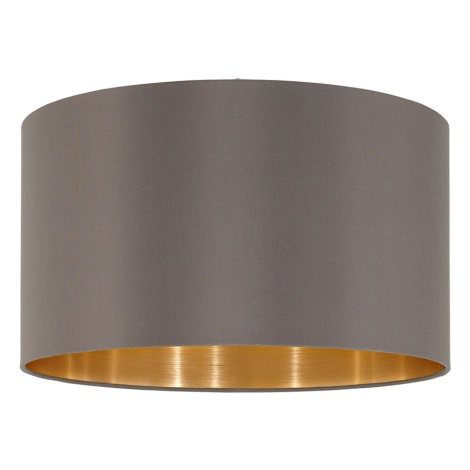 Eglo 39365 Lampenschirm Nadina 1 E27 Durchmesser 38 Cm Cappuccino