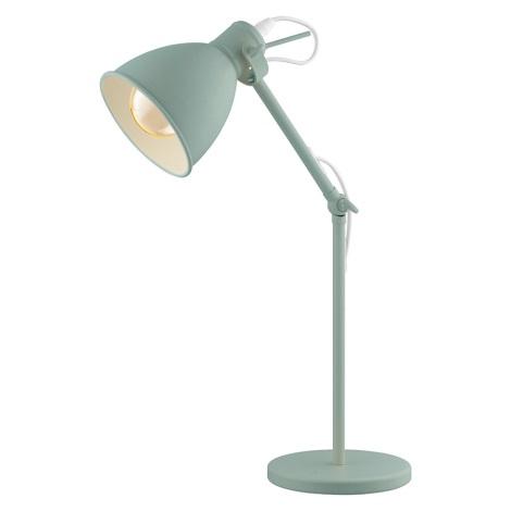 EGLO 49097 - Tischlampe PRIDDY-P 1xE27/40W/230V