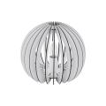 Eglo 79112 - Tischlampe COSSANO 1xE27/60W/230V weiß