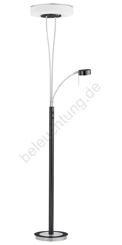 Eglo 88072 Stehlampe Tracy Schwarz Chrom Beleuchtung De