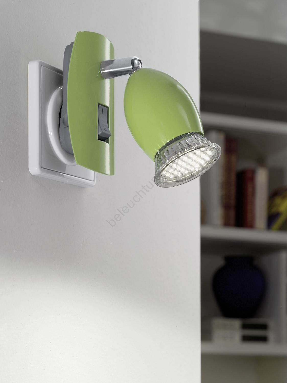leuchte mit steckdose gallery of bescheiden badlampe wand wandlampe led mit schalter ikea. Black Bedroom Furniture Sets. Home Design Ideas