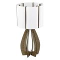 Eglo 94955 - Tischlampe COSSANO 1xE27/60W/230V