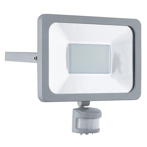Eglo 95411 - LED Reflektor mit Sensor FAEDO 1 1xLED/50W/230V
