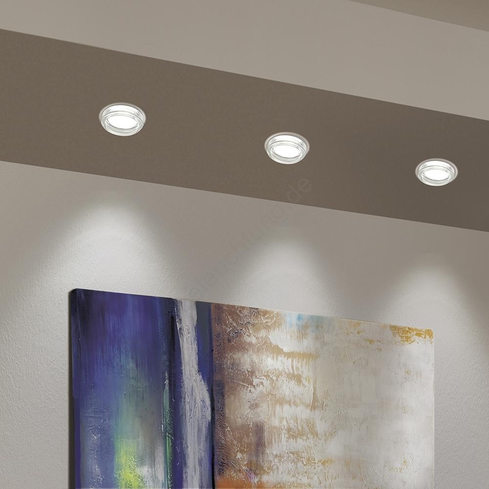 Eglo 95922- LED Badezimmer-Einbauleuchte PINEDA 1 1xLED/6W/230V
