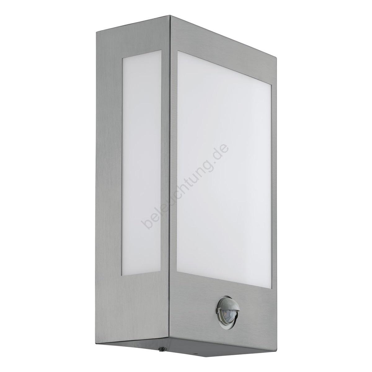 eglo 95989 led outdoor leuchte mit sensor ralora 1 led. Black Bedroom Furniture Sets. Home Design Ideas