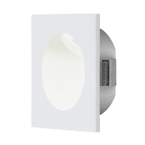 Eglo 96901 - LED Treppenleuchte ZARATE 1xLED/2W/230V weiss
