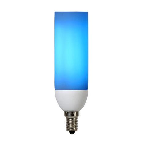 Energiesparlampe E14 9w : energiesparlampe colorot e14 9w 230v blau lucide 50331 09 35 ~ Whattoseeinmadrid.com Haus und Dekorationen