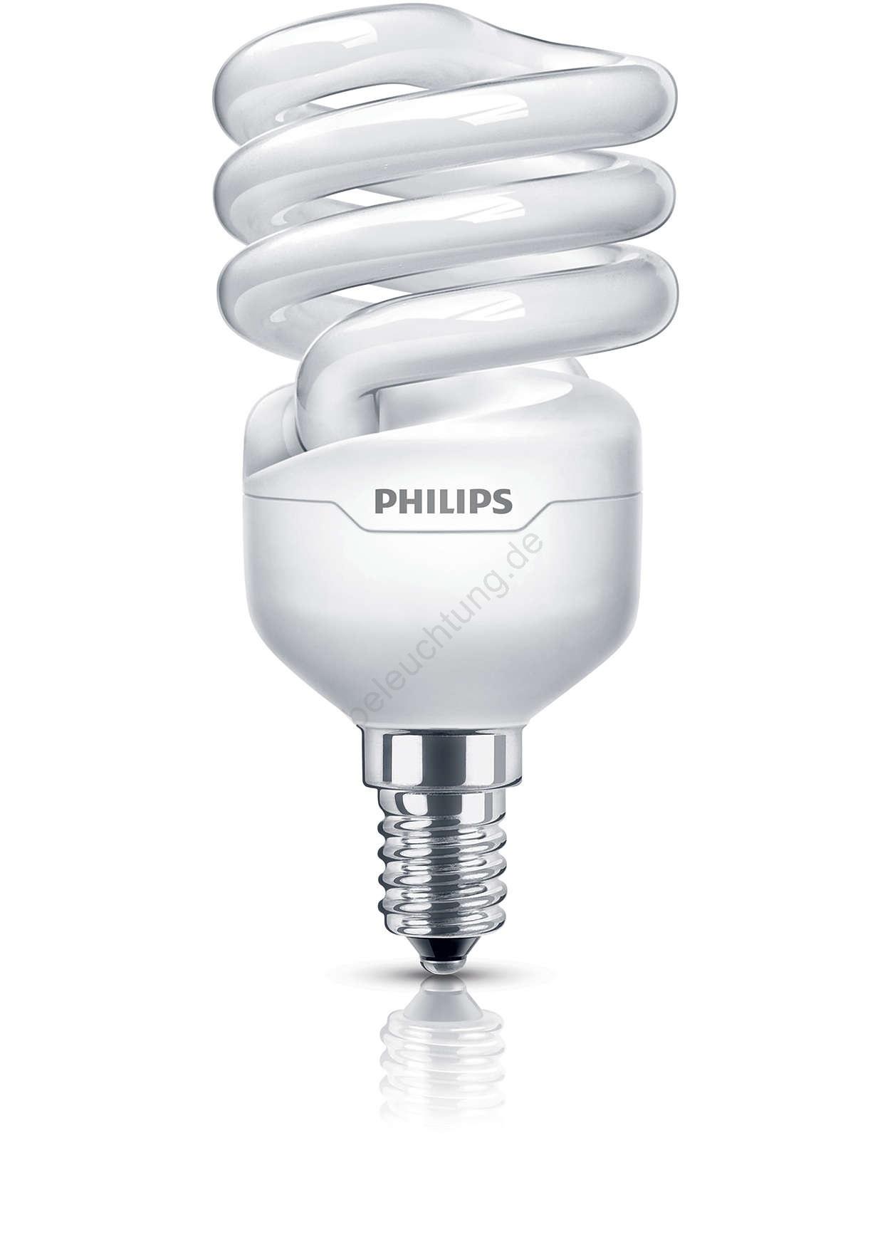 energiesparlampe philips e14 12w 230v tornado beleuchtung. Black Bedroom Furniture Sets. Home Design Ideas