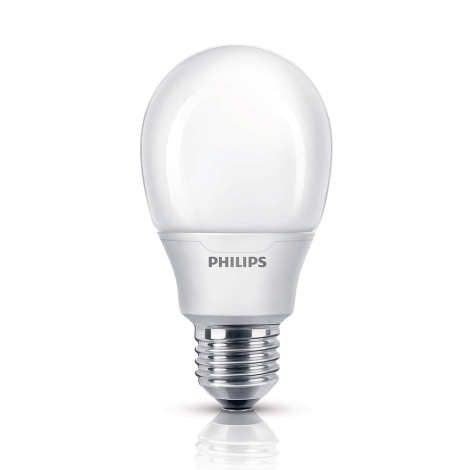 Energiesparlampe Philips E27/8W/230V 2700K