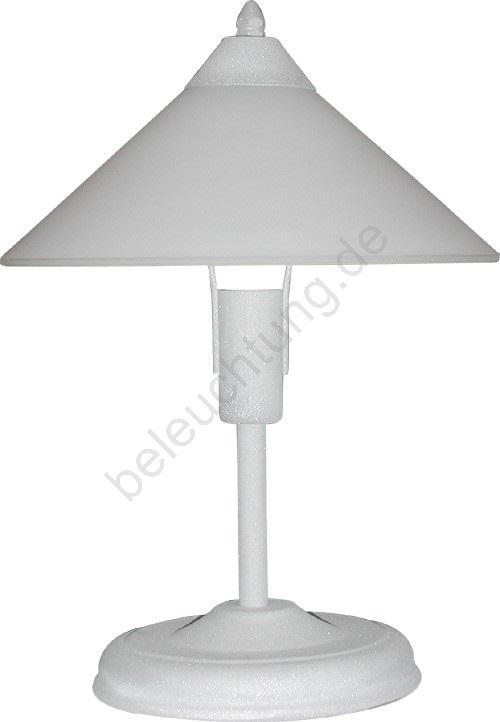 eko tischlampe 1xe27 60w silber weiss beleuchtung. Black Bedroom Furniture Sets. Home Design Ideas