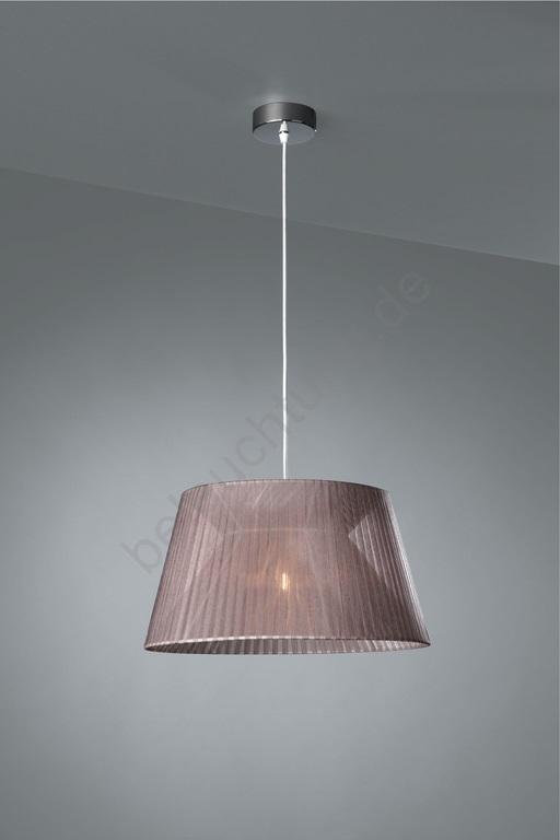 h ngender kronleuchter fleuro 1xe27 60w 230v grau beleuchtung prezent. Black Bedroom Furniture Sets. Home Design Ideas