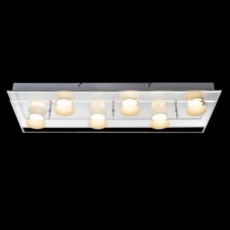 Globo 49228-6 - LED Badezimmer Deckenleuchte ALEXIA 6xLED/5W/230V ...