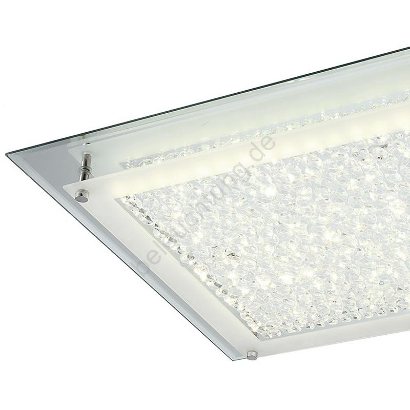 globo 49302 led deckenleuchte liana led 18w 230v. Black Bedroom Furniture Sets. Home Design Ideas