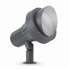 Ideal Lux - Aussenleuchte 1xE27/60W/230V gross anthrazit IP65