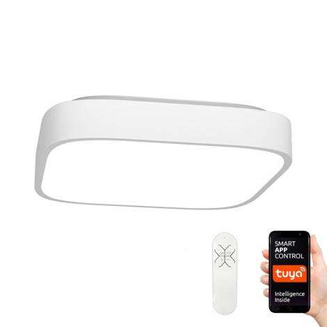 Immax NEO - Dimmbare LED Deckenleuchte RECUADRO LED/56W/230V + Fernbedienung Tuya