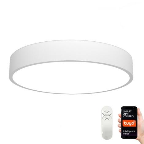 Immax NEO - Dimmbare LED Deckenleuchte RONDATE LED/65W/230V + Fernbedienung Tuya