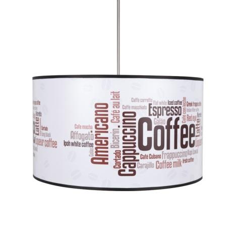 Kronleuchter COFFEE 1xE27/60W/230V
