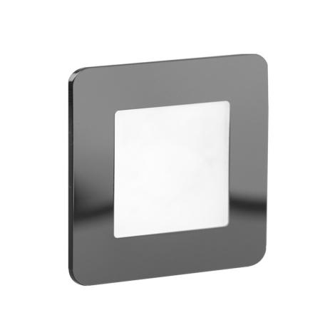 LDST DI-01-CB-BC9 - LED Treppenbeleuchtung DIANA 9xLED/1,2W/230V schwarz glänzend 3500K