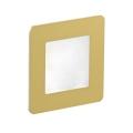 LDST DI-01-SZ-BZ9 - LED Treppenleuchte DIANA 9xLED/1,2W/230V Gold 6500K