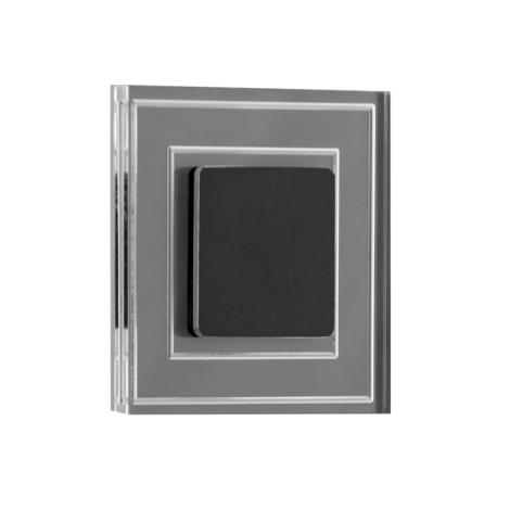 LDST KE-01-SC-BC8 - LED Treppenleuchte KELLY 8xLED/1,2W/230V schwarz matt 3500K