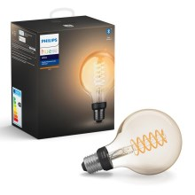 LED Dimmbare Glühbirne Philips HUE WHITE FILAMENT G93 E27/7W/230V
