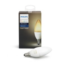 LED dimmbare Glühlampe Philips HUE WHITE AMBIANCE E14/6W/230V