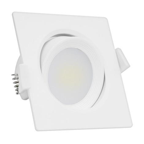 LED Einbauleuchte 1xLED/6,5W/100-250V 3000K