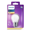 LED Glühbirne Philips E27/2,2W/230V