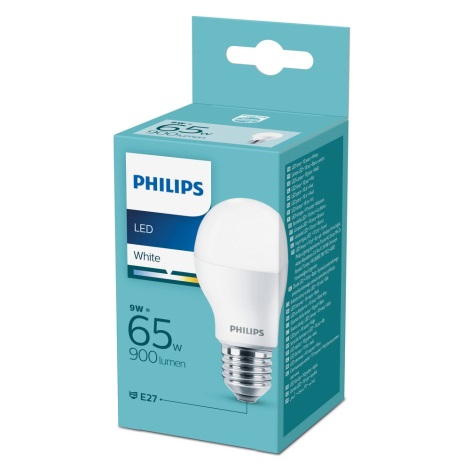 LED Glühbirne Philips E27/9W/230V 3000K