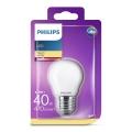 LED Glühbirne Philips P45 E27/4,3W/230V 3000K