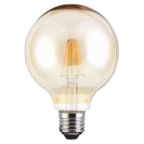 LED Glühbirne VINTAGE G95 E27/4W/230V 380lm