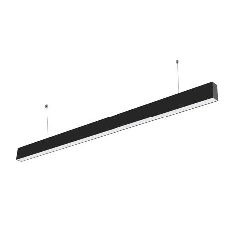 LED Hängeleuchte SAMSUNG CHIP 1xLED/40W/230V schwarz