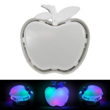 LED-Nacht-Steckleuchte APPLE LED/0,4W/230V