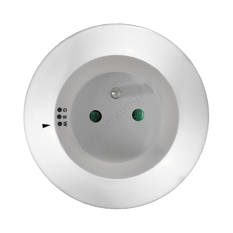 LED Orientierungsleuchte mit Steckdose LED/0,2W/230V | Beleuchtung