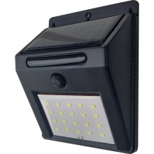 LED Solarwandleuchte LED/3W IP44