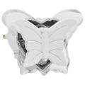 LED Steckdose Nachtlicht 0,4W/230V weißer Schmetterling