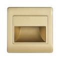 LED Treppenbeleuchtung mit Sensor STEP LIGHT NET LED/1,5W/230V gold