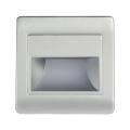 LED Treppenbeleuchtung mit Sensor STEP LIGHT NET LED/1,5W/230V silber