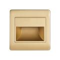 LED Treppenbeleuchtung STEP LIGHT LED/1,5W/230V gold