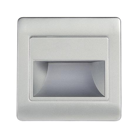 LED Treppenbeleuchtung STEP LIGHT NET LED/1,5W/30V silber