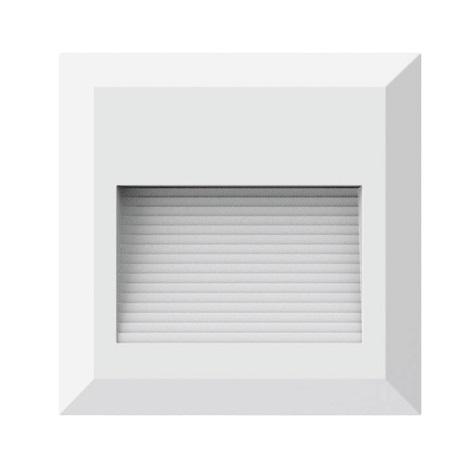 LED-Treppenhausleuchte 1xLED/2W/230V 3000K IP65