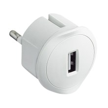 Legrand 50680 - Adapter USB in die Steckdose 230V/1,5A weiss